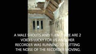 DAM HOUSE ASTLEY HAUNTED HOUSE EVP WORSLEY PARANORMAL GROUP