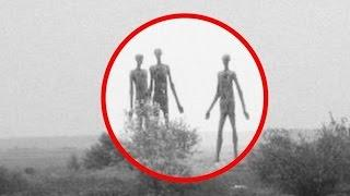5 ENCUENTROS CON ALIENS Captado en Video Y Visto en la Vida Real