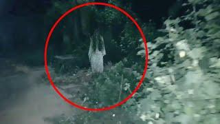 Real Ghost Walking In Forest Caught On Tape!! Ghost Videos 2018