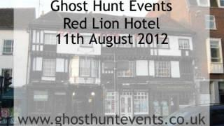 Red Lion Hotel, Colchester, Essex real ghost voice EVP