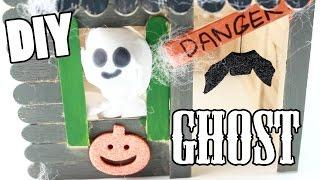DIY Halloween Ghost for HAUNTED HOUSE!
