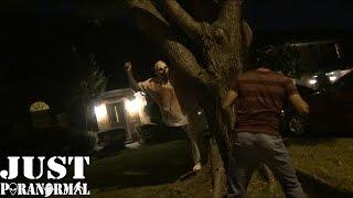 Clown Attack CAUGHT ON VIDEO   Just Paranormal