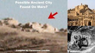 Possible Ancient City Found On Mars?