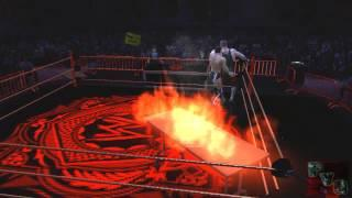 Fatal 4 way flaming tables match for undisputed championship