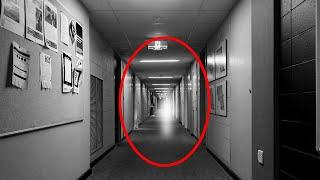 Ghost Caught On CCTV Causing Late-night Havoc At World's Most Obsessive School