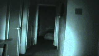Shadow person caught running down hallway!