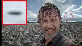 UFO Recorded In This Weeks The Walking Dead TV Show