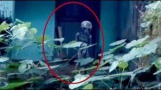 Ghost or Alien Strange Object Caught on Camera From an Abandoned Place !! Scary Videos