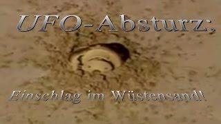 Hoax? - Ufoabsturz vom Militär gefilmt