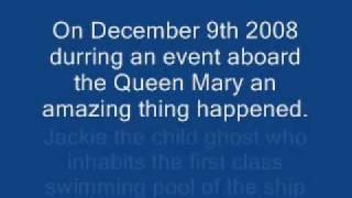Queen Mary Talking Ghost Child Jackie Speaks to Planet Paranormal Investigators