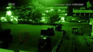 real jinn Caught on CCTV Camera   Ghost Following Man Caught On Camera  ghost hunting youtube HD