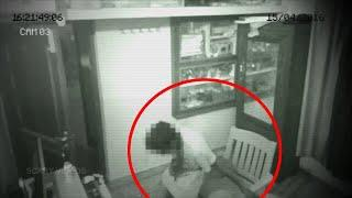 Shocking Ghostly Figure Caught on Camera !! Real Ghost Scary Videos 2018