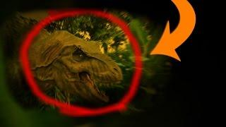 Alive T-Rex Hunts and Attacks Child, REAL or FAKE? Alive Real Dinosaur  YOUTUBE COLOR ENHANCED
