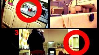 Poltergeist Caught on tape. Paranormal Activity Feb 2011