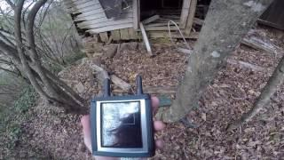 Urbex Paranormal Investigating An Abandoned House In the Woods By The Train Tracks Spirit Box