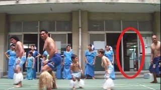 GHOST CAUGHT ON STREET IN DANCE FESTIVAL Tribal dance troop is spooked by real ghost Scary Videos