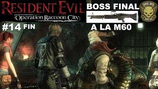 ☣ Resident Evil Operation Raccoon City #14 DLC SPEC OPS - Boss Final à la M60