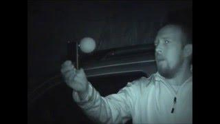 HAUNTED GARAGE ORBS SPIRITS AND EVP'S