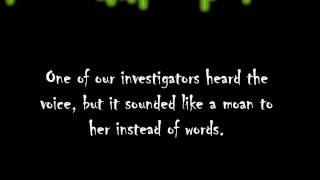 3P Paranormal captures EVP, Supports Proof of Paranormal Activity.wmv