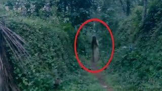 Scary videos | Two Ghosts Caught On Camera From A Haunted Place | A shocking video footage
