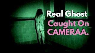 Ghost Caught on CCTV Camera   Real Ghost CCTV Footage