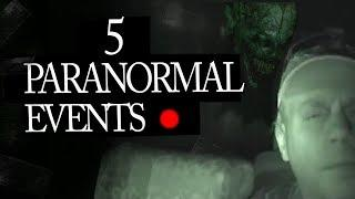 5 Mysterious and Paranormal Events Caught on Tape