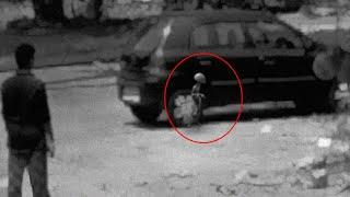 Child Skeleton Spotted In Real Life - Caught Near A Car