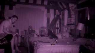 The Ancient Ram Inn - Possible orb caught on film in the Bishop's room.