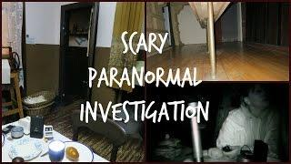 SCARY PARANORMAL INVESTIGATION + EVIDENCE! | BeautyCreep