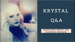 Q&A with Krystal! Haunted Mansion Questions Answered