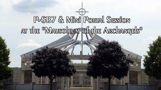 P-SB7 Radio Spirit Box & Mini Portal Session at the Mausoleum of the Archangels