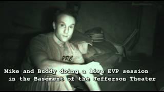 Paranormal Team  Investigates Histical Theater in TX