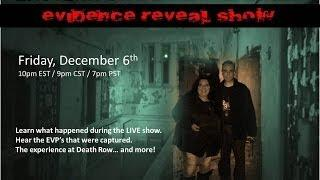 Paranormal Review Radio-Evidence Reveal Show: Eastern State Penitentiary Investigation