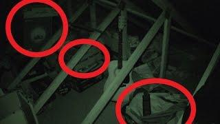 Demon Throwing Objects in my Attic - Real Paranormal Activity Part 19.3