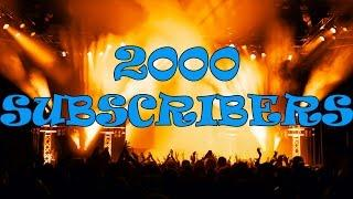 2000 Subscribers Giveaway! (CLOSED)