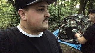 Camp Out at Real Portal to Hell! Toms Vlog