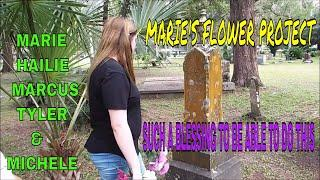 FLOWER PROJECT / YOUR DONATIONS BY MARIE & MARCUS