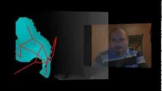 Phantom Elite Paranormal LIVE Kinect project test 2.2 sound FIX clean