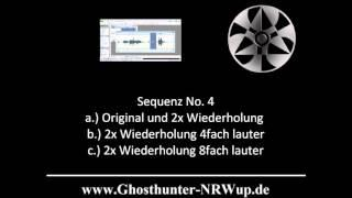 G.U.P.P. - Ghosthunter-NRWup & RLP - Tonsequenz PU 04.07.2015 - kommentiert