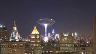 Most Shocking Creepy Ufo Sighting Over Amsterdam City!! Ufo Sighting Viral Video!!