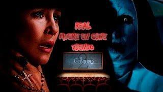 MUERE en el Cine al ver El Conjuro 2 y su Cuerpo DESAPARECE [REAL]