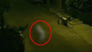 Creepy Ghost In Haunted Abandoned Street!! Real Supernatural Spirit Caught!!