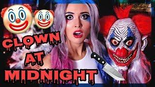 CLOWN AT MIDNIGHT! | SCARY STORY!