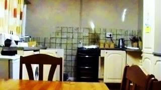Ghost Caught On Tape. Poltergeist Activity Caught On Video camera.
