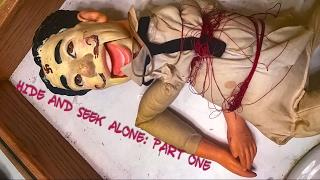 ONE MAN HIDE AND SEEK Part One: Creation Of The Doll. Creepy Pasta Paranormal Rituals Games Alone