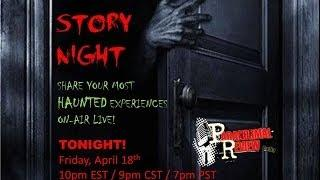 Paranormal Review Radio: Creepy Story Night! Listeners Haunted Stories