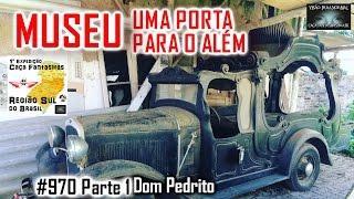 MUSEU UMA PORTA PARA O ALÉM - Caça Fantasmas Brasil - #970 Parte 1