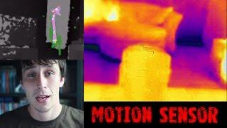 Thermal, Kinect and Motion Sensor! | Real Paranormal Activity Part 51.1