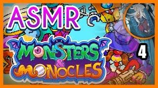 ASMR Monsters And Monocles | Haunted Mansion! | ASMR Gaming & Let's Play #4