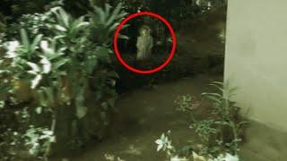 Real Scary Ghost Video From A Home Garden That Is Never Explained!! Ghosts Caught On Tape!!